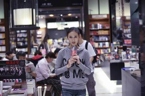 组图:新小乔赵柯访台 书屋纯品女孩写真大曝光