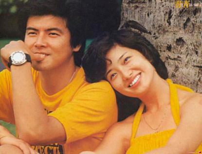 三浦友和与山口百惠当年照片-山口百惠儿子进军乐坛 三浦友和不反对图片