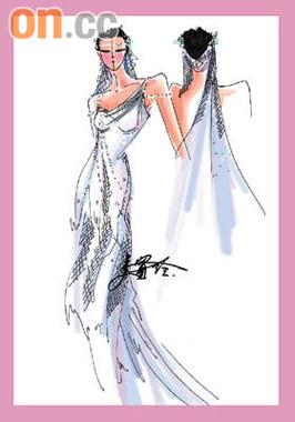 设计婚纱 游戏 手绘