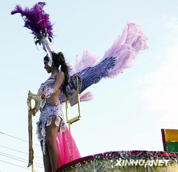 里约热内狂欢节一场精彩的视觉组图[盛宴]_南女生打理超短发图片