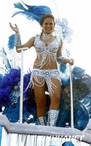 里约热内狂欢节一场精彩的视觉组图[礼物]_南实用盛宴女生图片
