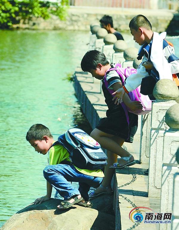 东湖风景区铁链