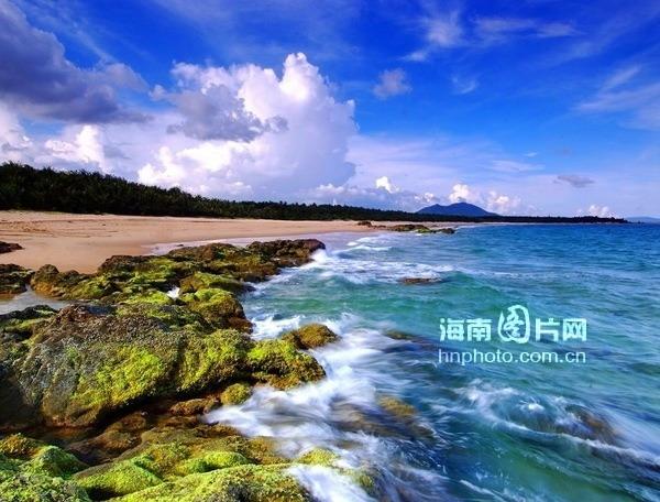 组图:陵水清水湾风景醉人