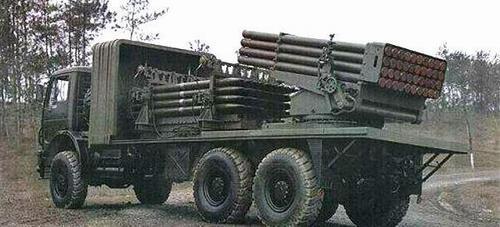 资料图:中国90b122毫米多管火箭炮图片