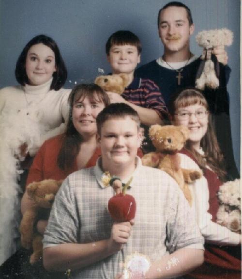 爆笑雷人的美国家庭照[组图]图片