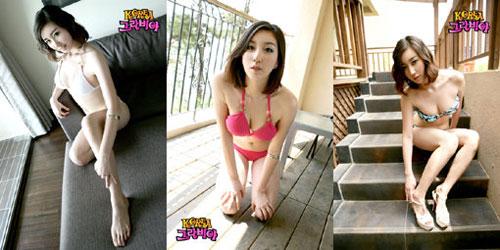 韩国可爱小女孩模特