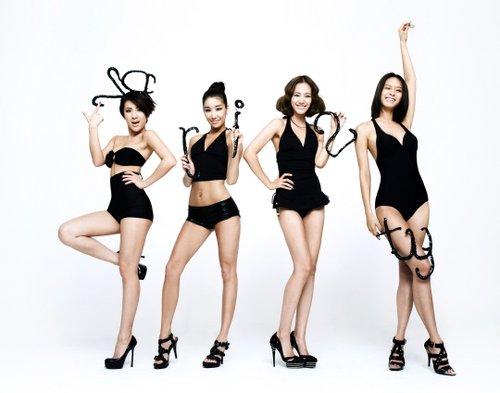 2001年韩国美女团体jewelry以第一张专辑《discovery