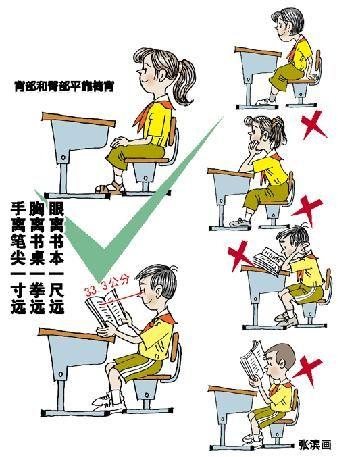 温总理与学生上课照片中仅总理坐姿端正[图]图片