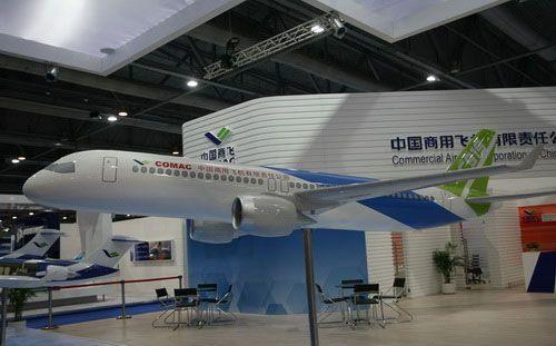 国产大飞机c919机身外形设计首度亮相(组图)