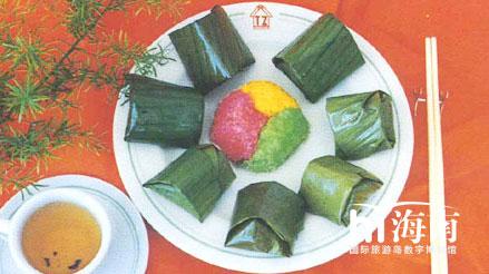 海南包粽子的步骤图解
