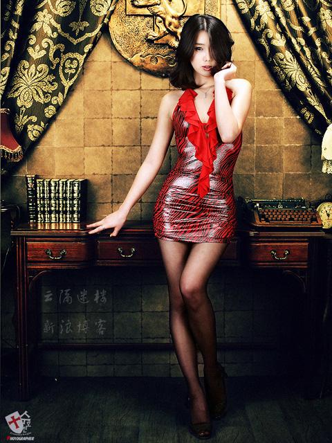 韩国2009年十大美女车模揭晓组图