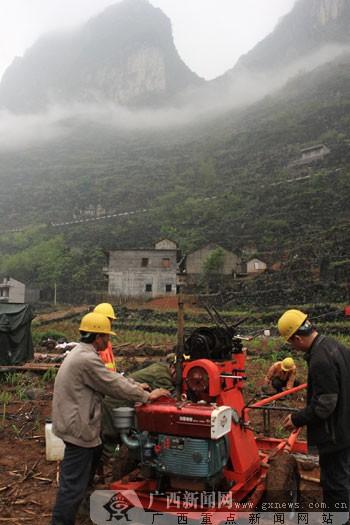 新闻中心 国内新闻 中国动态 正文    桂林工程地质勘察院在都安县东