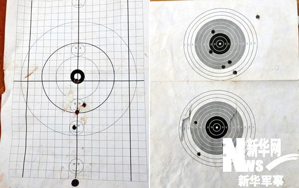图13:狙击手使用的其他靶纸