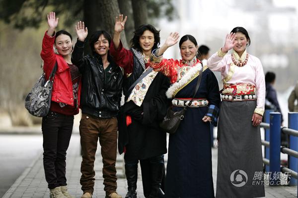 花儿朵朵西宁报名; 青海西宁藏族美女