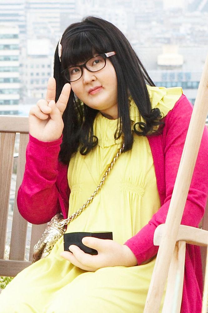 美女金素妍变身大胖子图