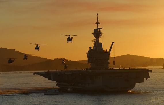 航母编队作战能力解析