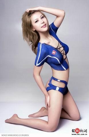 欧裸美女人体艺术_世界杯美女裸彩pk体操冠军汤加丽人体艺术[图]