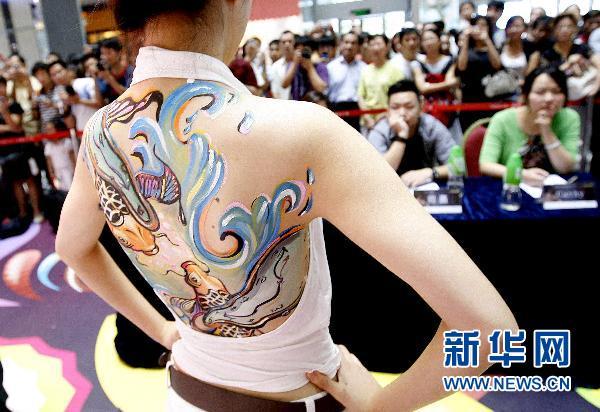 里人体人体艺术_上海:\
