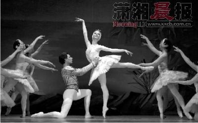 芭蕾天鹅湖的故事