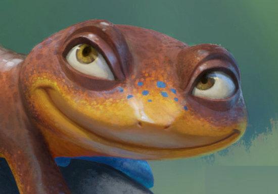 组图:皮克斯《蝾螈》概念艺术设计图曝光图片