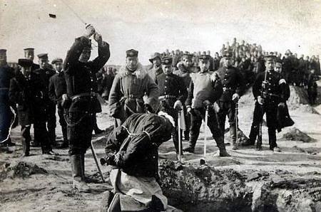 黑白战争废墟场景手绘