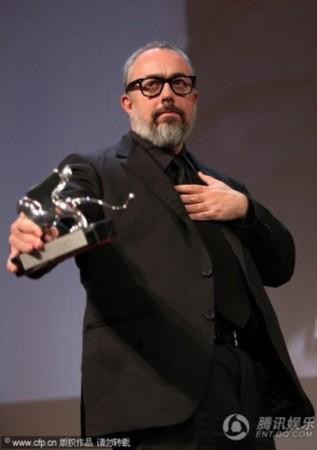 威尼斯电影节闭幕 阿莱克斯获得最佳导演银狮奖