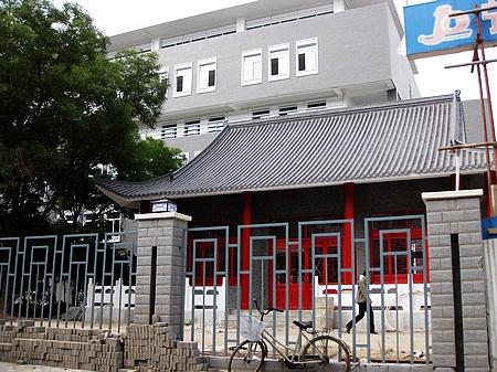 别墅,红柱,灰瓦的文庙坐落在银川十五中东南角.青砖内部格局图片