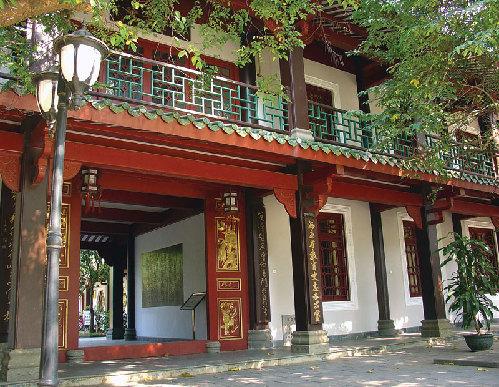 琼台书院 书屋飘香三百年