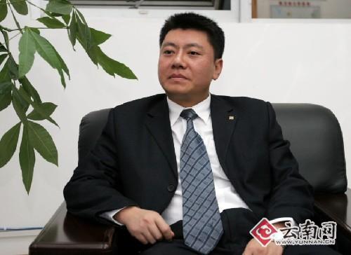 云南苏宁电器有限公司总经理高志川(张 正 摄)