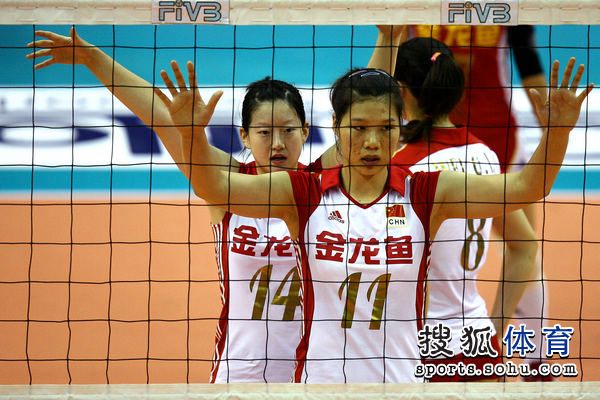 中国女排亚洲杯名单_图文:亚洲杯中国女排vs韩国 徐云丽做好准备