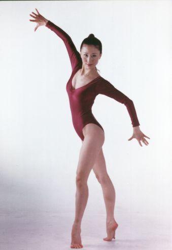 汤加丽艺术体操照 汤加丽人体艺术写真照[图]