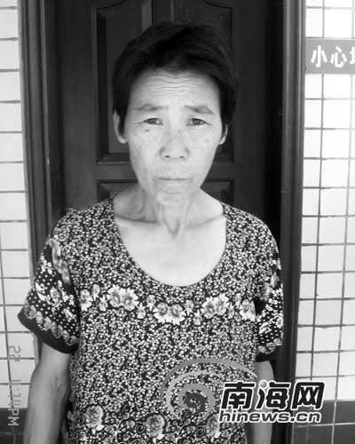 六旬阿婆迷路 在海南省救助站等家人