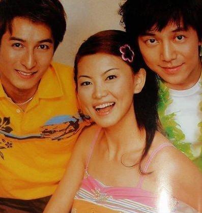 李湘,何炅还有李维嘉青涩时期图片