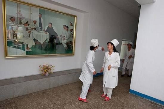 朝鲜罕见百姓生活照_南海网新闻中心