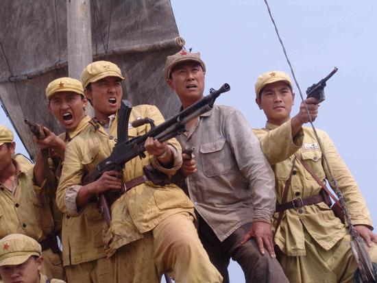《解放海南岛》登陆央视 733个角色皆历史人物