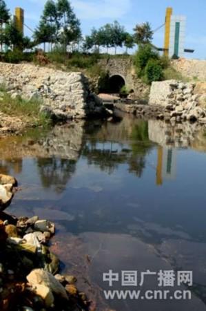 盛隆公司主排水口