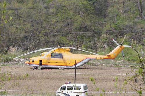 青岛直升机航空有限公司的米-26,该机是中国购入的第二架米-26.