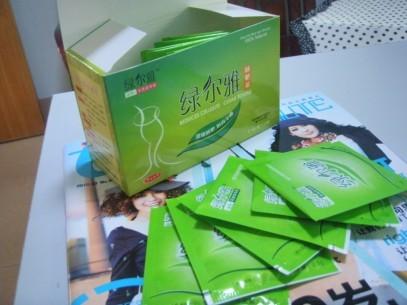 绿尔雅减肥茶,健康的,绿色的,包装很喜欢