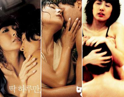 组图:韩国电影里的情色镜头