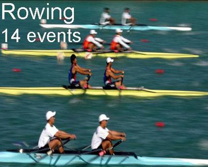 赛艇项目介绍 起源于英国 1982年正式进亚运会