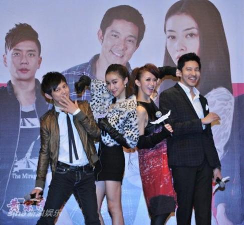 我的野蛮女友2 北京首映 野蛮 合影