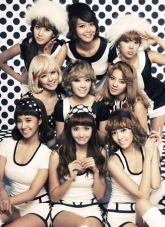 韩国超人气美女偶像团体少女时代