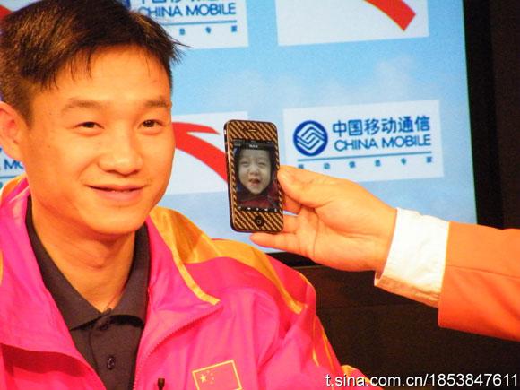 杨威做客冠军面对面 儿子长得像杨威吗