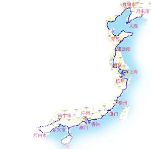 男子骑单车游中国海岸线 遭遇抢劫聊天脱险(图