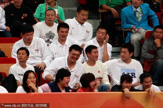 中国男篮91 46蒙古 张云松笑了