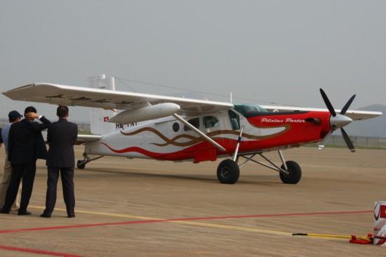 趣图:珠海航展的小飞机们