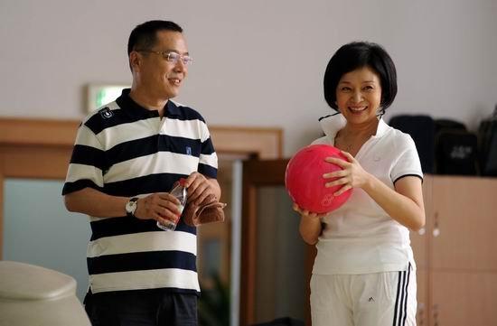 刘莉莉《夫妻》成运动健将练瑜伽打保龄重养