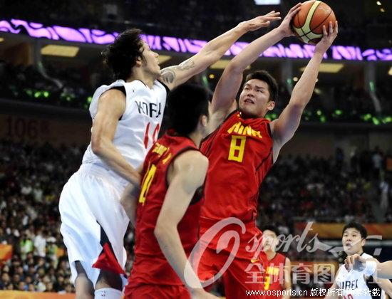孙悦19分 中国男篮胜韩国小组赛保持不败