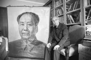 南海网 新闻中心 国内新闻 中国动态    一张看似普通的《毛主席半身