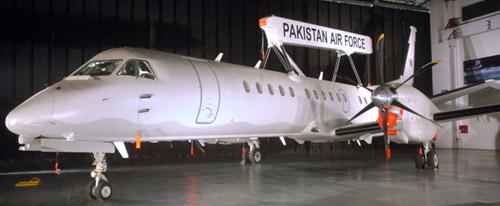 巴基斯坦2009年引进的首架瑞典萨博-2000预警机.高清图片